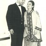 1964 Açık Hava Turatdot Operası Okan Demiriş, Leyla Demiriş
