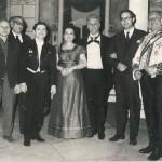 1964 Eugene Onegin Asım Kozol, Muhittin Sadak, Niyazi Tagizade, Leyla Demiriş, Lucinio Montefusco, Elmar Voigt, Nurhan Ruçan